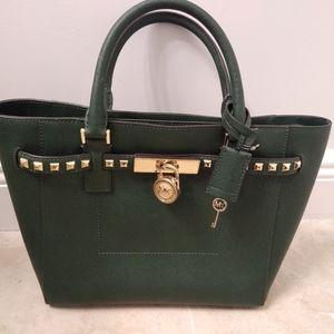Michael Kors Forest Green Handbag